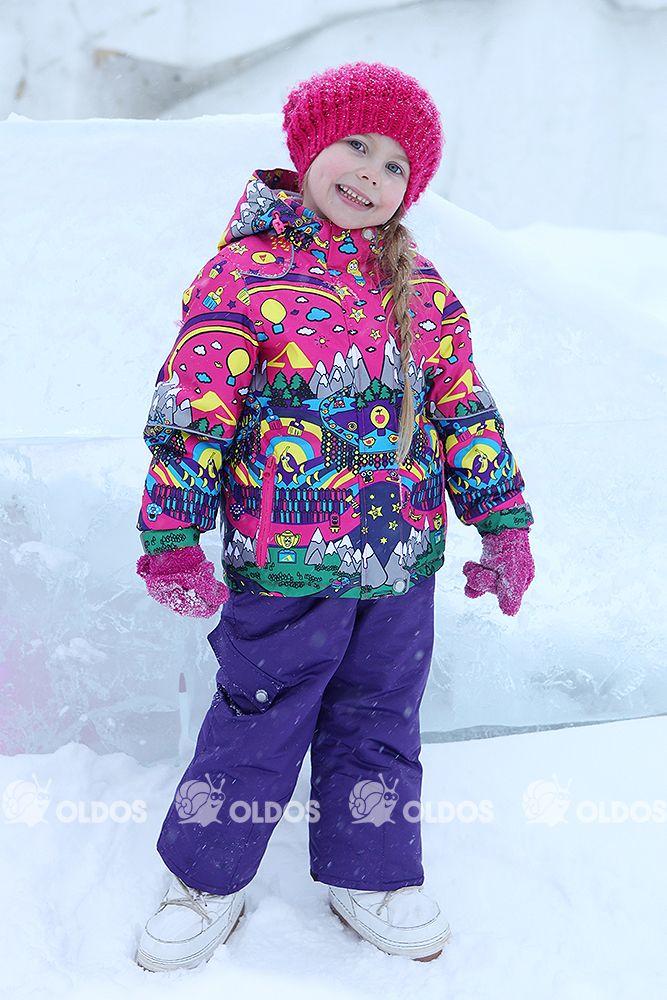 Детские зимние куртки для девочек спб